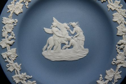 Blue Jasperware Wedgewood Pottery For Sale